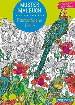 Muster Malbuch Fantastische Tiere (Mängelexemplar)
