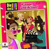Die drei !!! - Klappe und Action! / Die drei Ausrufezeichen Bd.54 (1 Audio-CD)