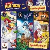 Der kleine Hui Buh - 3er Spuk und Hex Box, 1 Audio-CD