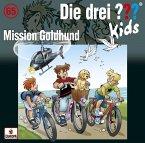 Mission Goldhund / Die drei Fragezeichen-Kids Bd.65 (1 Audio-CD)