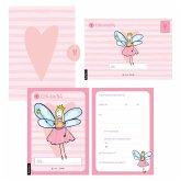 12 Einladungskarten Geburtstag Mädchen (Feen). Handgemachte Einladungskarten Kindergeburtstag incl. 12 liebevollen Hand designten Briefumschlägen. Verpackt in einer wundervollen hochwertigen Karton Box. By Lisa Wirth