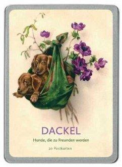 Dackel. 20 Postkarten