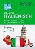 PONS Mini-Sprachkurs Italienisch. Mit Audio-Download und App