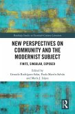 New Perspectives on Community and the Modernist Subject (eBook, ePUB)