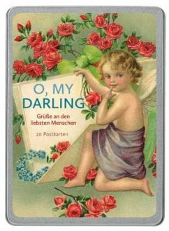 O, my Darling. 20 Postkarten