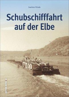 Schubschifffahrt auf der Elbe - Winde, Joachim