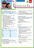 Green Line 2. Auf einen Blick: G9. Klasse 6. Grammatik passend zum Schulbuch - Klappkarte (6 Seiten)