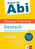 Klausur-Training - Deutsch Textanalyse und Interpretation