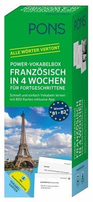 PONS Power-Vokabelbox Französisch in 4 Wochen für Fortgeschrittene