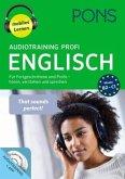 PONS Audiotraining Profi Englisch, 2 MP3-CD