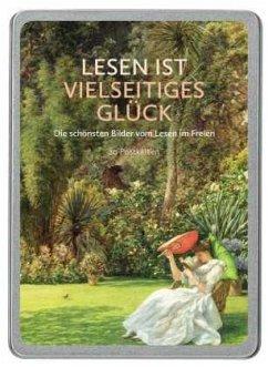 Lesen ist vielseitiges Glück. 20 Postkarten