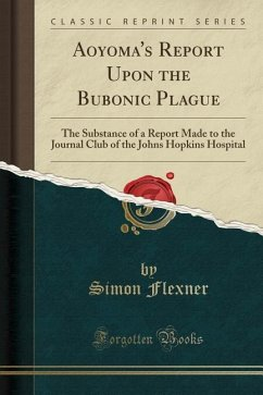 Aoyoma´s Report Upon the Bubonic Plague