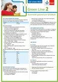 Green Line 2. Auf einen Blick G8. Klasse 6. Grammatik passend zum Schulbuch - Klappkarte (6 Seiten)