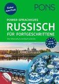 PONS Power-Sprachkurs Russisch für Fortgeschrittene
