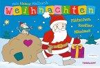 Mein kleines Malbuch Weihnachten. Plätzchen, Rentier, Nikolaus (Mängelexemplar)