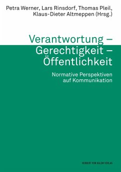 Verantwortung - Gerechtigkeit - Öffentlichkeit (eBook, PDF)