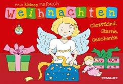 Mein kleines Malbuch Weihnachten. Christkind, Sterne, Geschenke (Mängelexemplar)