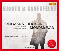 Der Mann, der kein Mörder war / Sebastian Bergman Bd.1 (1 MP3-CD) - Hjorth, Michael;Rosenfeldt, Hans
