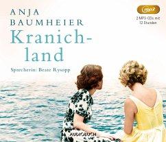Kranichland, 2 MP3-CDs - Baumheier, Anja