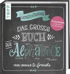 Handlettering. Das große Buch der Alphabete - Frau Annika