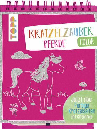 Kratzelzauber Color Pferde von frechverlag portofrei bei ...
