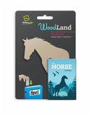 Woodland Lesezeichen Horse - Pferd