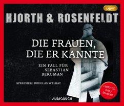 Die Frauen, die er kannte / Sebastian Bergman Bd.2 (1 MP3-CD) - Hjorth, Michael; Rosenfeldt, Hans; Allenstein, Ursel