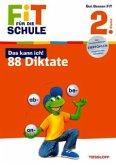 Fit für die Schule: Das kann ich! 88 Diktate. 2. Klasse (Mängelexemplar)