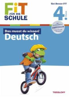 Das musst du wissen! Deutsch 4. Klasse (Mängele...
