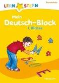 Lernstern: Mein Deutsch-Block 1. Klasse (Mängelexemplar)