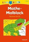Lernstern: Mathe-Malblock 1. Klasse. Rechnen bis 20 (Mängelexemplar)
