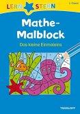 Lernstern: Mathe-Malblock 2. Klasse. Das kleine Einmaleins (Mängelexemplar)