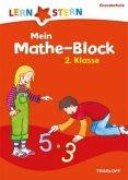 Lernstern: Mein Mathe-Block 2. Klasse (Mängelexemplar)