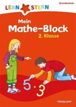 Lernstern: Mein Mathe-Block 2. Klasse (Mängelexemplar) - Zenker, Werner
