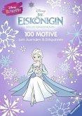 Disney kreativ: Die Eiskönigin - 100 Motive zum Ausmalen und Entspannen (Mängelexemplar)