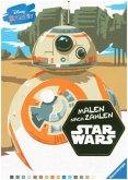 Disney kreativ: Star Wars(TM) Malen nach Zahlen (Mängelexemplar)
