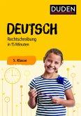 Deutsch in 15 Minuten - Rechtschreibung 5. Klasse