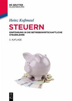 Steuern (eBook, PDF) - Kußmaul, Heinz