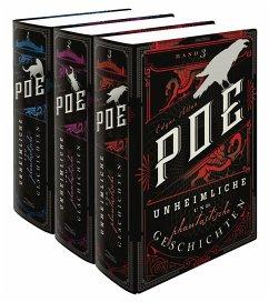 Unheimliche und phantastische Geschichten (3 Bände) - Poe, Edgar Allan