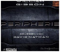 Peripherie, 2 MP3-CDs - Gibson, William