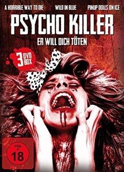 Psycho Killer - Er will dich töten (3 Discs)