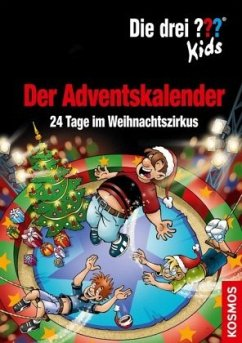 Die drei ??? Kids Adventskalender 9 (drei Fragezeichen) - Blanck, Ulf