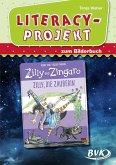 Literacy-Projekt zum Bilderbuch Zilly, die Zauberin