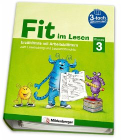 Fit im Lesen - Erzähltexte, Klasse 3 - Stehr, Sabine; Schumacher, Eva; Schumacher, Katrin