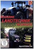 Moderne Landtechnik im Einsatz - Autonom und digital in die Zukunft! Mit Fendt, Case IH, ZF Innovation Tractor u.a., 1 DVD