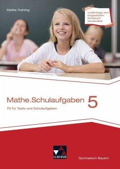 mathe.delta 5 Schulaufgaben Bayern - Eisentraut, Franz;Leeb, Petra