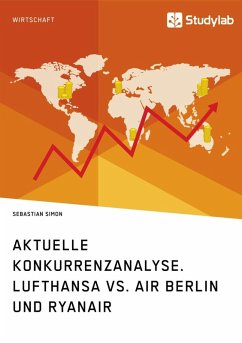 Aktuelle Konkurrenzanalyse. Lufthansa vs. Air Berlin und Ryanair (eBook, ePUB)