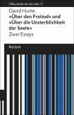 Über den Freitod / Über die Unsterblichkeit der Seele (eBook, ePUB)