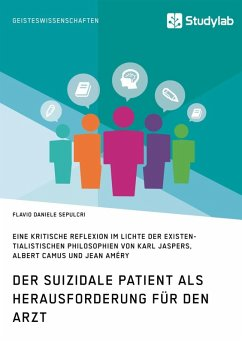 Der suizidale Patient als Herausforderung für den Arzt (eBook, ePUB)
