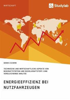 Energieeffizienz bei Nutzfahrzeugen. Technischer und wirtschaftlicher Aspekte von Biokraftstoffen und Dieselkraftstoff (eBook, ePUB)